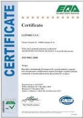 CERTIFICATO EQA n.QA110431_07-12-2014